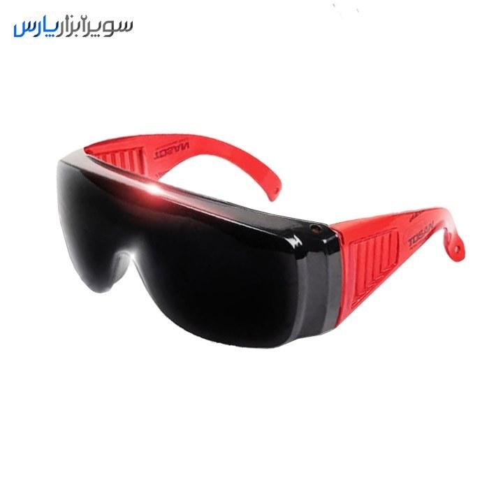 تصویر عینک ایمنی جوشکاری اپتیک مادون قرمز توسن مدل TSG-300WG