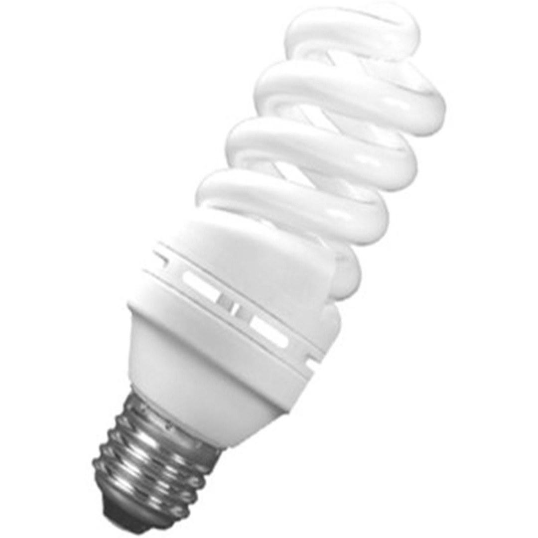 تصویر لامپ کم مصرف 40 وات تمام پیچ نور سرپیچ E27