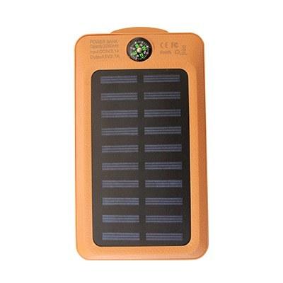 تصویر پاور بانک خورشیدی VIAKING مدل GB/T ظرفیت 20000 میلی آمپر ساعت