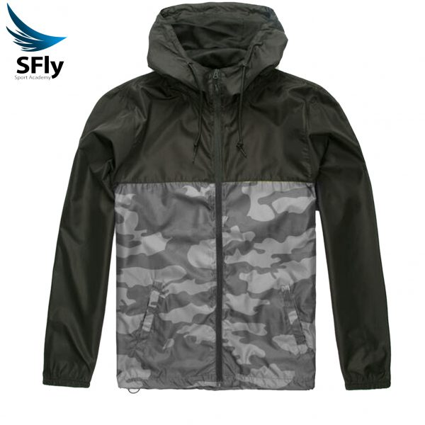 تصویر بادگیر و بارانی سبک کیف دار