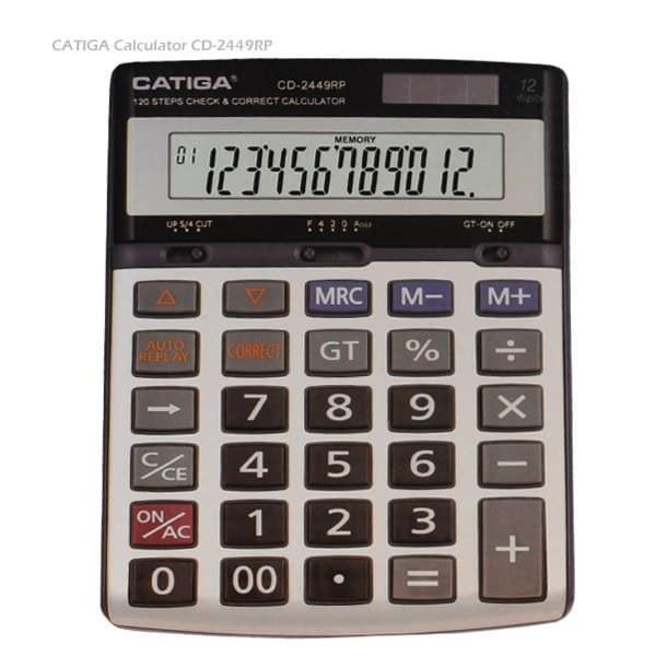 تصویر ماشین حساب کاتیگا مدل CD-2449RP