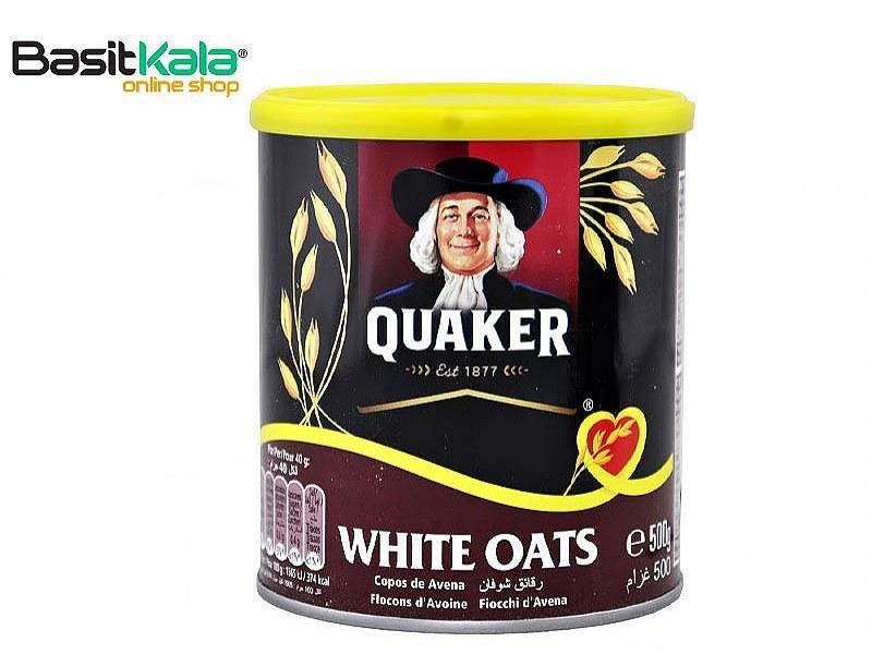 تصویر جو دوسر سفید 500 گرمی کواکر Quaker