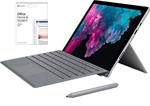"""2019 مایکروسافت Surface Pro 12.3 """"صفحه نمایش لمسی 2736 x 1824 رایانه لوحی رایانه لوحی ، Intel Core m3-7Y30 تا 2.6GHz ، 4 گیگابایت رم ، 128 گیگابایت SSD ، صفحه کلید سیاه ، ضمانت 2 ساله فروشنده ، ویندوز 10 صفحه اصلی"""