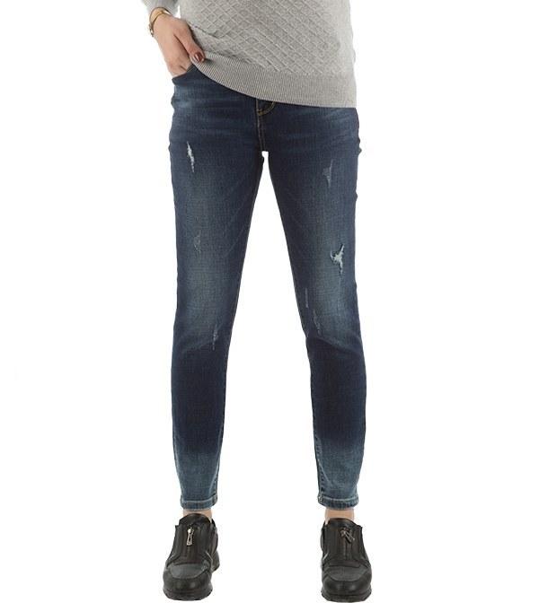 شلوار زنانه جین جذب زاپ دار جین وست Jeanswest