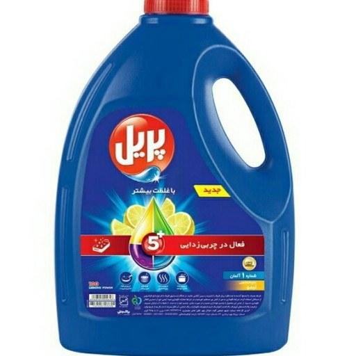 تصویر مایع ظرفشویی 3750 لیتری پریل