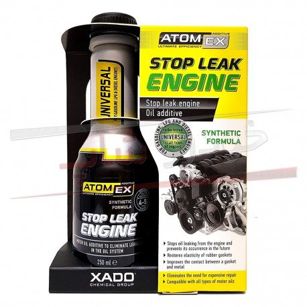 تصویر مکمل نشت گیر روغن زادو حجم 250 میلی لیتر XADO Stop Leak Engine