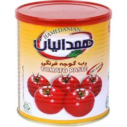 تصویر رب  گوجه فرنگی  همدانیان 800 گرمی