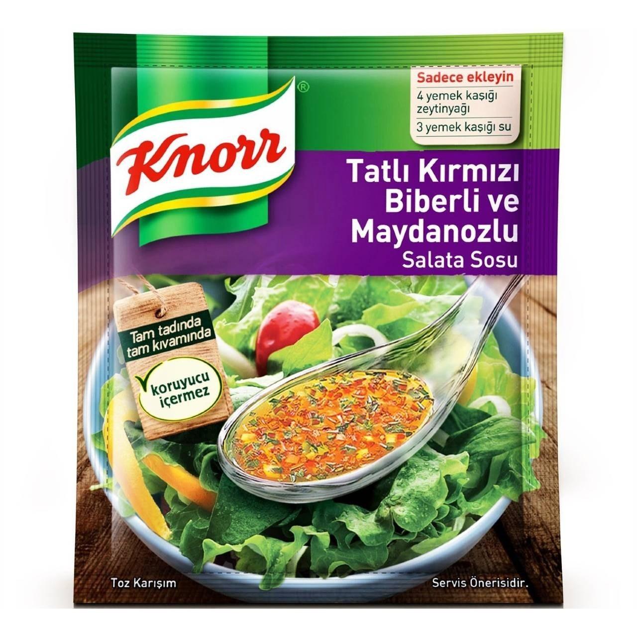 تصویر سس سالاد کنور Knorr