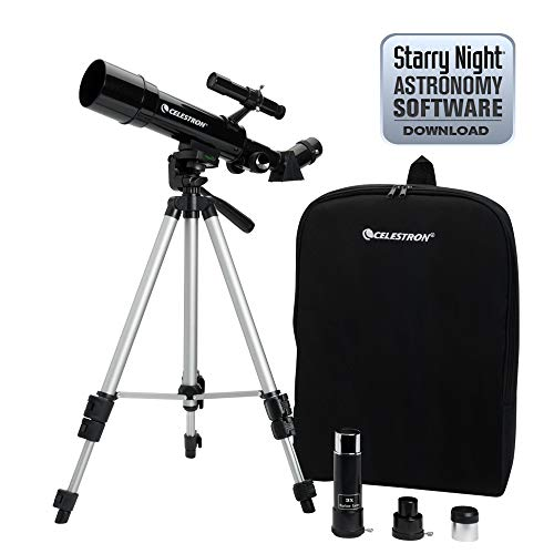 Celestron 21038 Travel Scope 50 Telescope (Black)