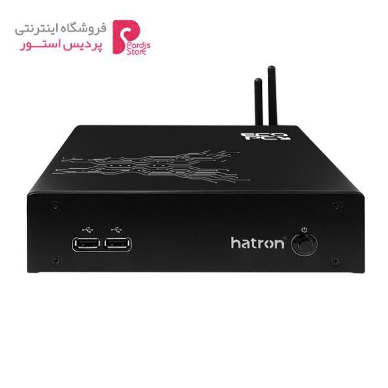 تصویر کامپیوتر کوچک هترون ei563un-4d4ss12 hatron ei563un-4d4ss12 mini pc