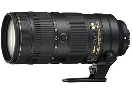   Nikon 20063 70-200mm f/2.8-22 Body Only Camera Lens, Black