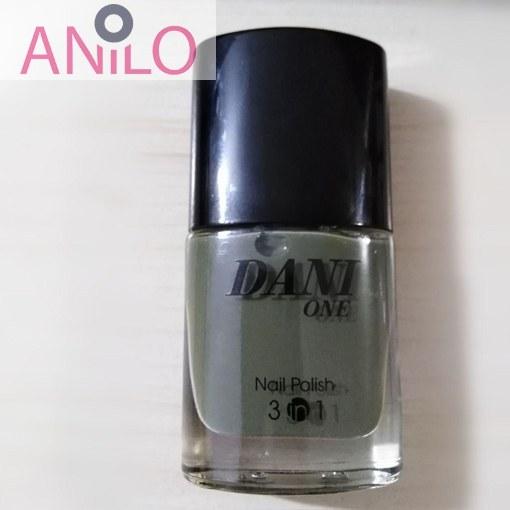 لاک دنی وان مدل nail polish 3 in 1 شماره 36 حجم 9 میل