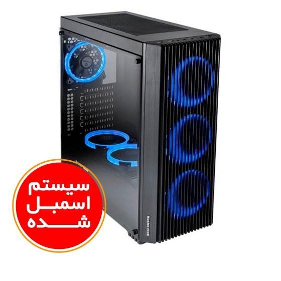 تصویر سیستم اسمبل شده گیمینگ ایسوس مدل A4 با پلتفرم اینتل گرافیک 4 گیگابایت PC A4 Gaming ASUS i5(9600K) 32GB(3000) RAM 1TB SSD