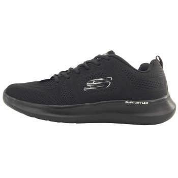 کفش مخصوص پیاده روی زنانه اسکچرز مدل Quantum-flex black |