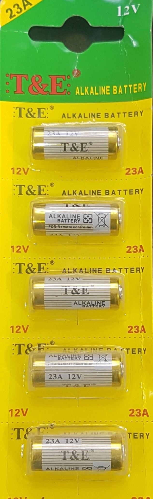 تصویر باطری 23 آمپر 12 ولت Battery 23A 12V