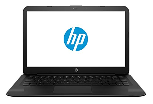 """لپ تاپ HP 14-ax040wm، اینتل Celeron N3060، 1.6 گیگاهرتز، 32 گیگابایت، ویندوز 10 خانه 64 بیتی، سیاه و سفید، 14 """""""