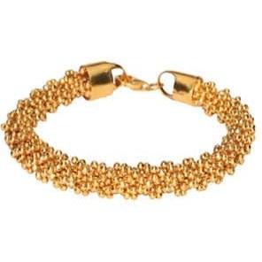دستبند طلا 18 عیار زنانه گالری گیرا مدل M5770  