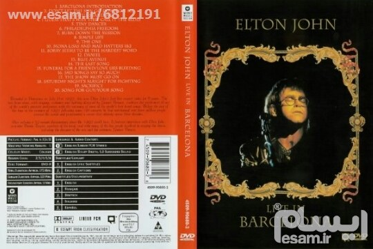 عکس ELTON JOHN - Live in Barcelona  elton-john-live-in-barcelona
