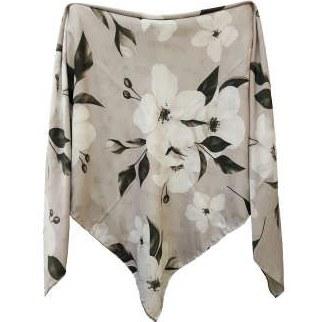 روسری زنانه طرح برگ و گل کد 0012