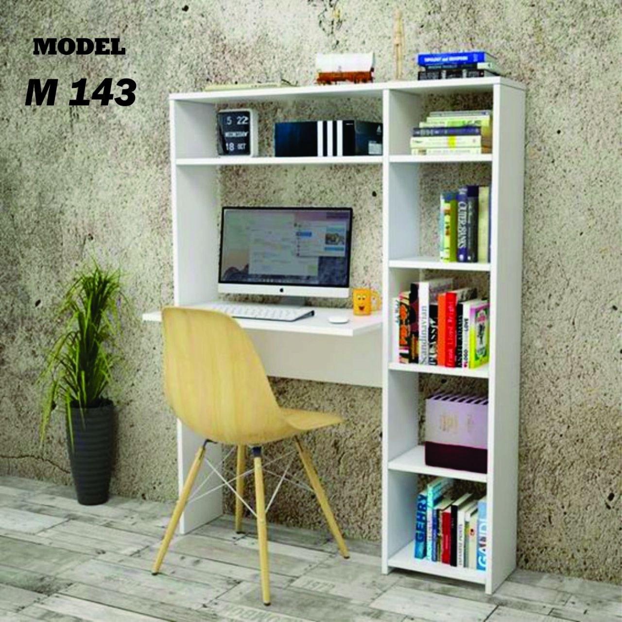 تصویر میز تحریر کتابخانه دار مدل M143