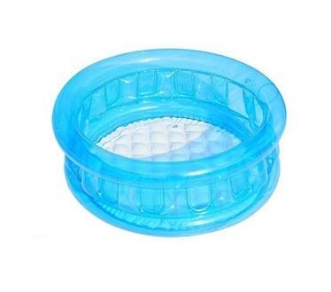 تصویر استخر بادی آبی شیشه ای کودک