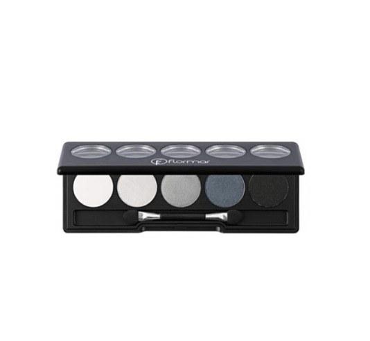 پالت سایه ۵ رنگ فلورمار شماره ۰۵ مدل BLACK DUST