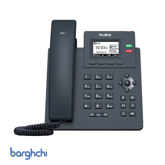 تصویر تلفن تحت شبکه یالینک مدل SIP-T31