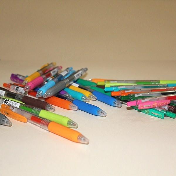 خودکار ژله ای رنگی |