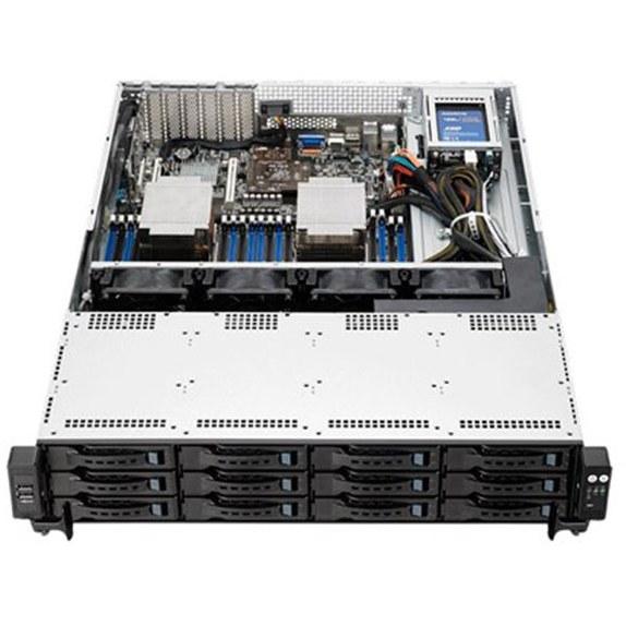سرور ایسوس Asus RS522-E8-RS12 E V2 R1-64GB | Asus RS522-E8-RS12 E V2 R1 Xeon E5-2620-v4-64GB-2TB+240GB SSD Server Workstation