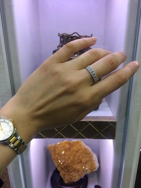 انگشتر نقره زیورآلات الماسین   silver ring