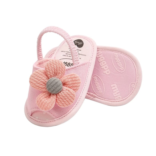 تصویر صندل نوزادی دخترانه گلدار