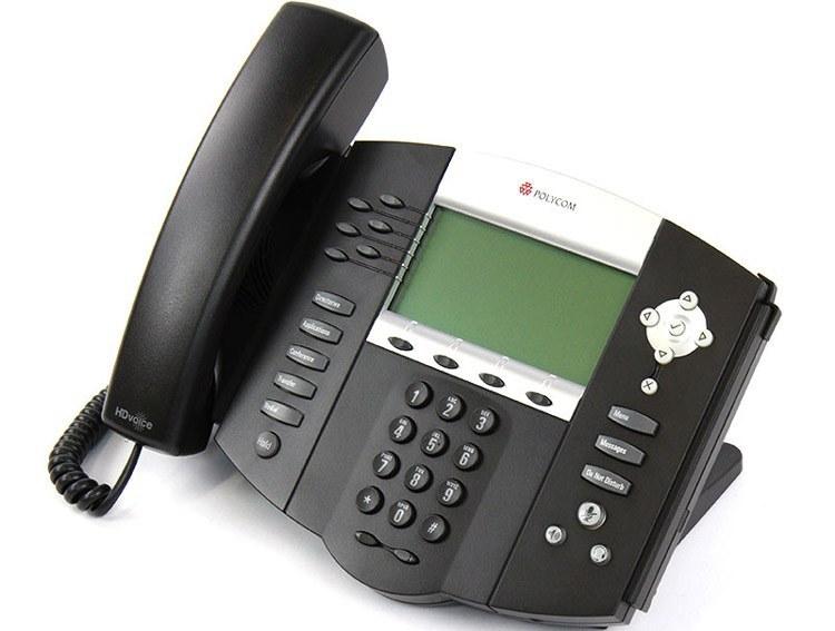 تصویر Polycom SoundPoint IP 650 Phone تلفن VoIP پلی کام مدل SoundPoint IP 650 تحت شبکه