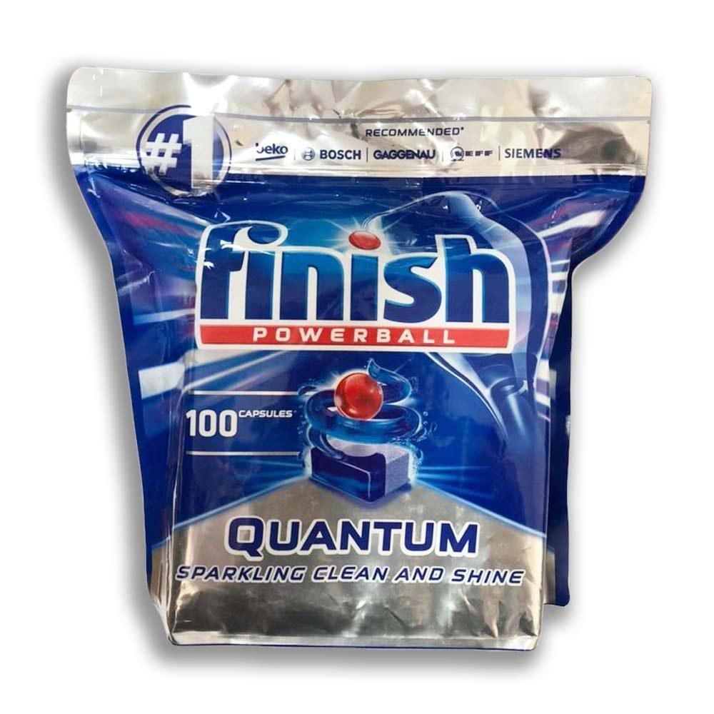 تصویر قرص ماشین ظرفشویی کوانتوم 100عددی فینیش Finish Finish Quantom Powerball 100 Tablets
