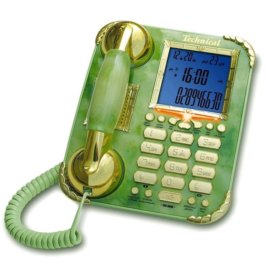 تصویر گوشی تلفن تکنیکال مدل TEC-5818