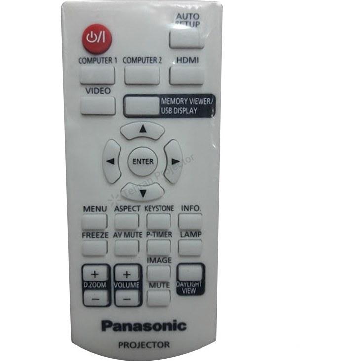 تصویر ریموت کنترل ویدئو پروژکتور پاناسونیک کد 1 – Panasonic projector remote control