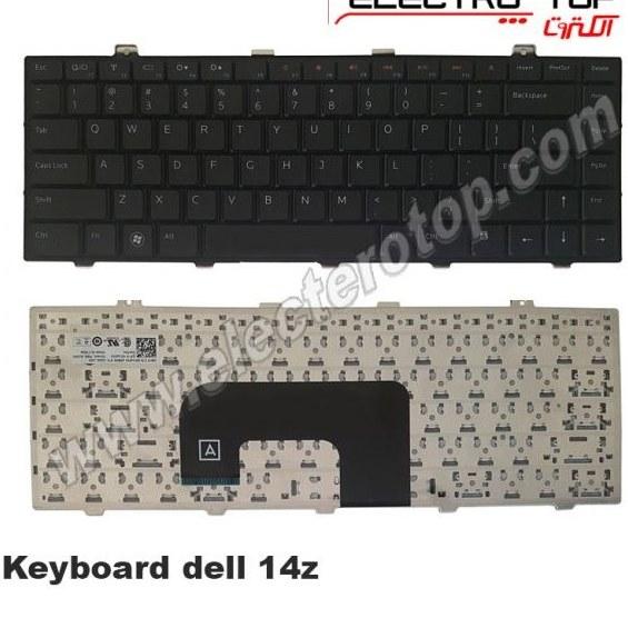 تصویر Laptop Keyboard Dell 14z کیبورد لپ تاپ دل ۱۴z