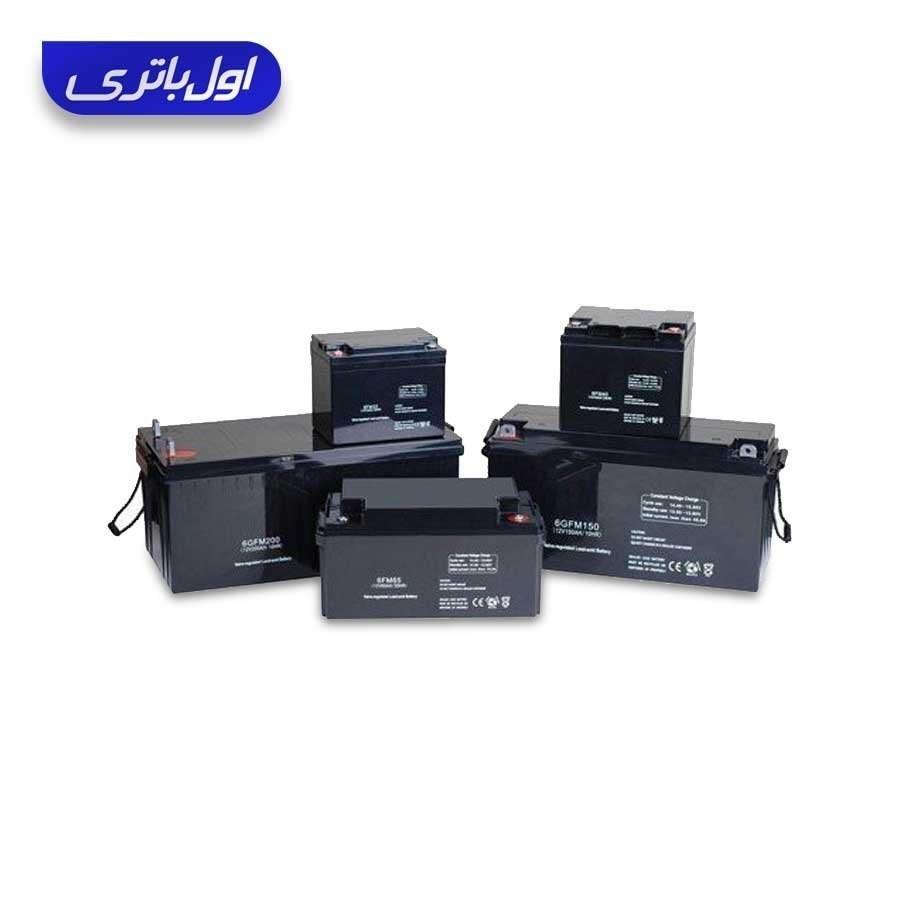 باتری ups (یو پی اس) 12 ولت 100 آمپر صبا باتری |
