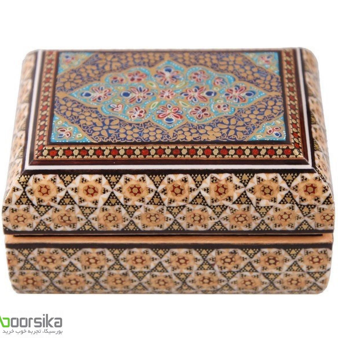 جعبه جواهرات خاتم استاد کروبی مدل 141155