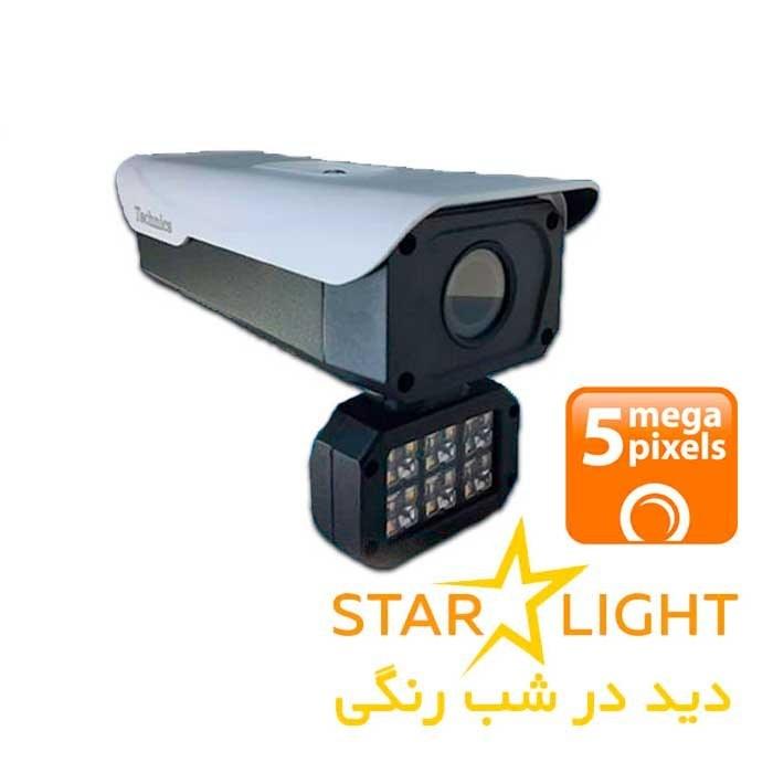 دوربین بولت ۵ مگاپیکسل استارلایت تکنیس مدل ۵۳۲۰