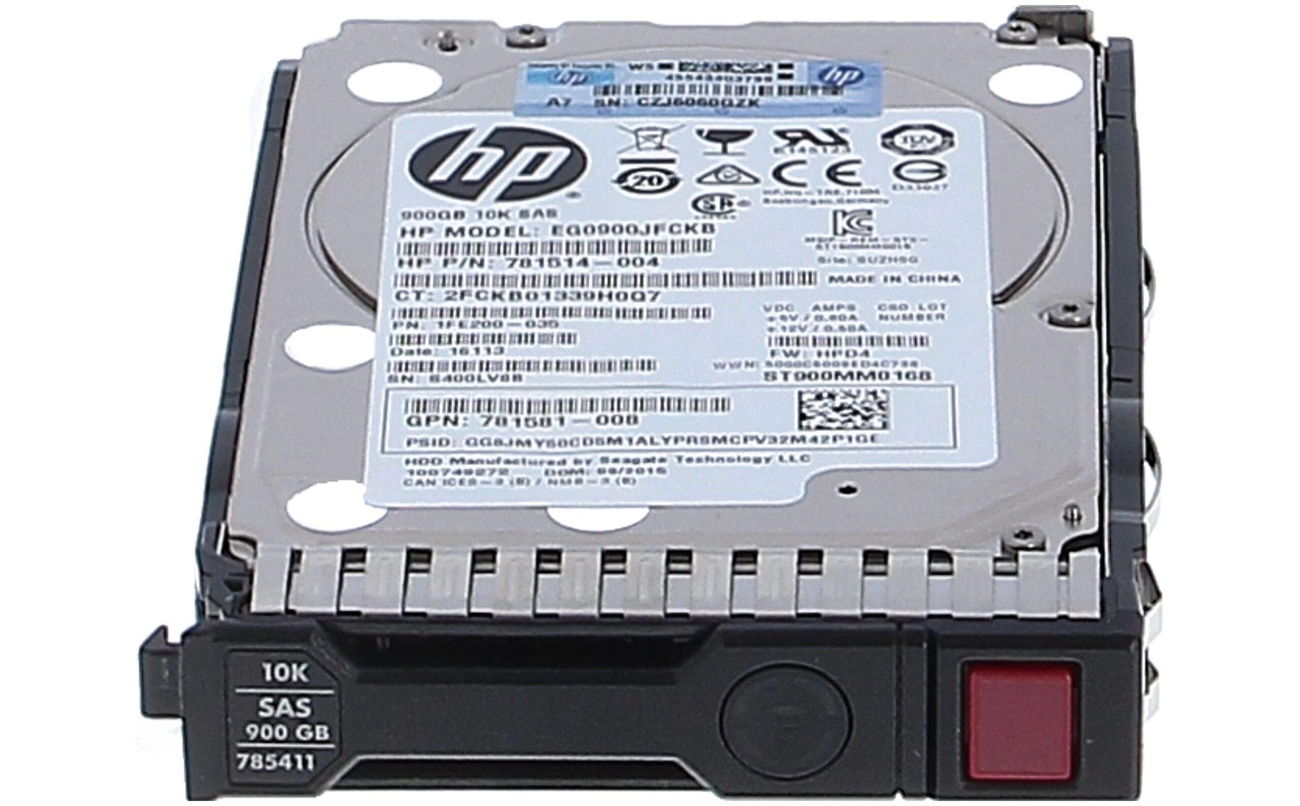 تصویر هارد سرور HP 300GB SAS 15K 6G SFF
