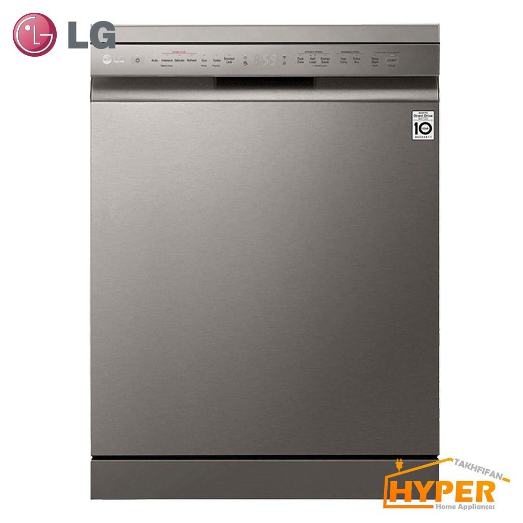 ماشین ظرفشویی ال جی ۱۴ نفره مدل XD77S