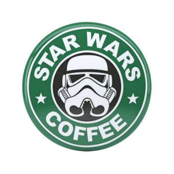 پیکسل طرح Stormtrooper Starbucks |
