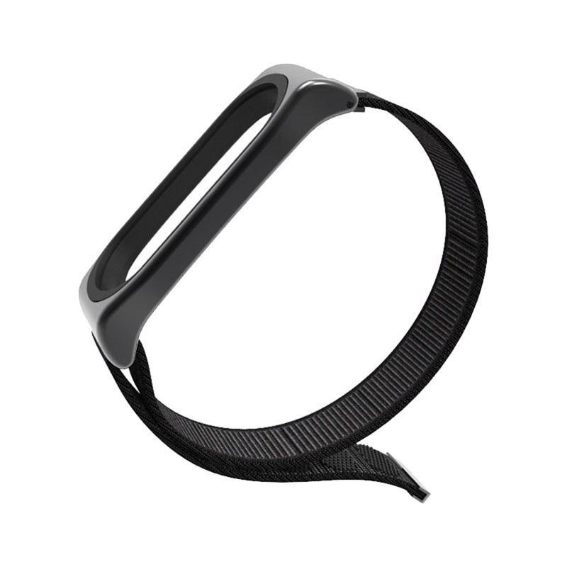 تصویر بند فلزی مدل Nylon دستبند شیائومی mi band 3 Xiaomi Mi Band 3 and mi band 4 Nylon Strap