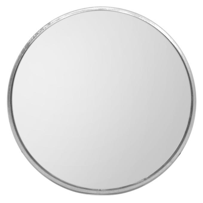 تصویر آینه محدب بزرگ استیل