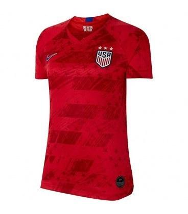 پیراهن زنانه ورزشی تیم دوم آمریکا USA 2019-20 Women Away Soccer Jersey