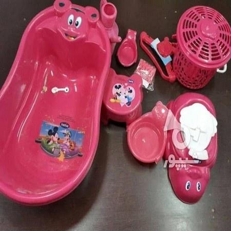 سرویس وان حمام کودک مدل آسیا