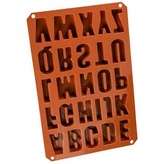 تصویر قالب مولد سیلیکونی فوندانت حروف انگلیسی کد 551