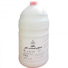 عکس محلول ضدعفونی کننده دست 70 درصد الکل 4 لیتری نلا  محلول-ضدعفونی-کننده-دست-70-درصد-الکل-4-لیتری-نلا