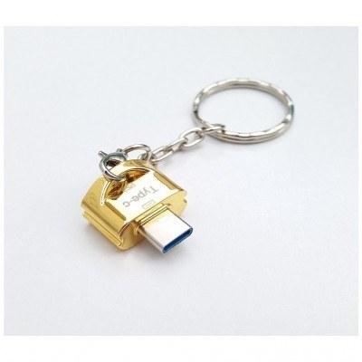 تصویر تبدیل  OTG Type-C REMAXجاکلیدی USB3