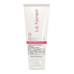 تصویر کرم مرطوب کننده و کنترل کننده چربی لافارر مخصوص پوست های چرب و مستعد آکنه حجم 75 میل Lafarrerr Sebum Regulating Moisturizing Cream For Oily And Acne Prone Skin 75ml
